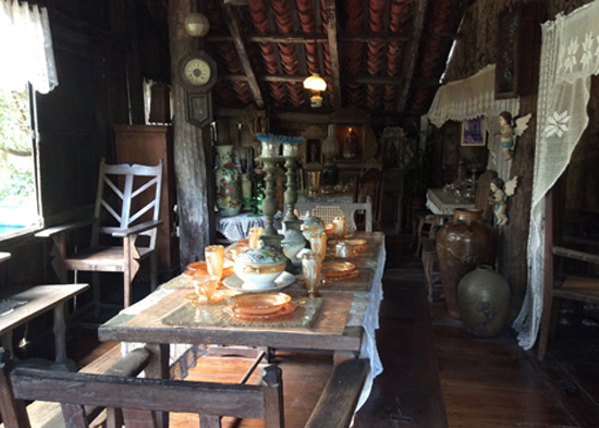 One of The Preserved Ancestral House in The Philippines